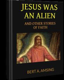 Jesus was an Alien hardcover new BA